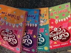 Set of 4 'Cupid Company' books