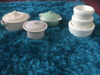 A selection of pots which have never been used just collecting dust