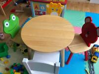 Pintoy John Crane Kids Table and Chairs
