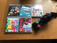 PS3 games and microphones