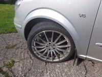 "20 "" alloy wheels 5x112 mercedes audi vw skoda seat swap for 19 """