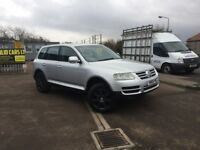 IMMACULATE AUTOMATIC 4✖️4 VOLKSWAGEN TOUAREG TDI SPORT (top of the range) - FULL SERVICE HISTORY
