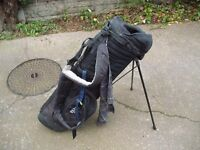 IZZO LEFT HAND CARRY STAND BAG