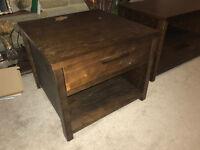 Dark Walnut Side Table