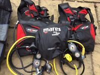 Scuba Diving Gear & Custom Case