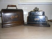 Very old Edison Gem Phonograp