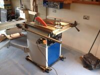 Fox Sliding Carriage Table Saw Bench Model F36-529