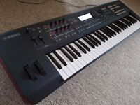 Yamaha MOXF6 synthesizer workstation with extra 512mb memory