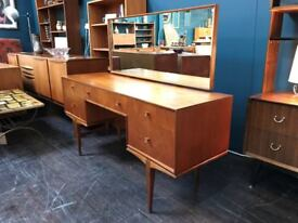 Dressing Table (Or Desk) By McIntosh of Kirkcaldy. Retro Vintage Mid Century.