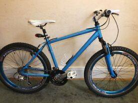 UNISEX - 24 SPEED 18 INCH ALLOY MOUNTAIN BIKE ( CUSTOM BUILT) MY OWN BIKE !