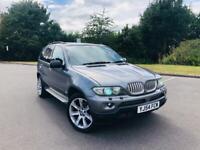 BMW X5 3.0d Sport 2005 twin Pan/Sunoof fully loaded bargain drive away Px swap wel