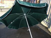 Green large parasol great condition £8