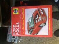 Ford Focus mk 1 workshop manual