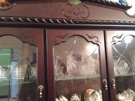 Welsh dresser mahogany vintage old