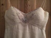 Jenny packham wedding dress size 8