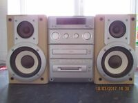 Panasonic MD Stereo System & Speakers