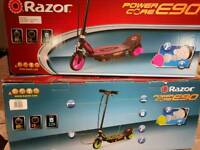 Brand new razor scooters