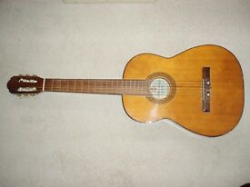 SPANISH CLASSICAL GUITAR. INTERMEDIATE LEVEL. 6 STRING. INCLUDES A PROTECTIVE CASE.