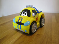 yellow Turbo Touch Car, Chicco