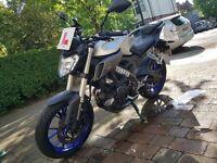 Yamaha MT-125. Akrapovic Exhaust, Low mileage.