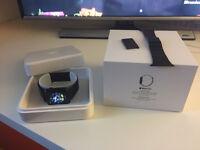 Apple Watch 42mm Space Black Stainless Steel Case Space Black Milanese loop...