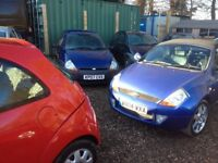 Many cars in stock from £300