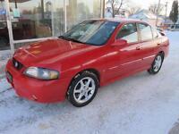 2003 Nissan Sentra SRS 2.5 litre automatic 166,000 k  SALE $4995