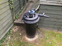 Selection of Pond Equipment for sale.