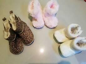 Baby girl shoe bundle 6-12 months