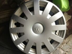 Hubcap for Citroen Picasso Xsara