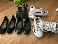 Shoes and trainer bundle size 3 woman or girl