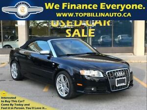 2009 Audi S4 4.2 Convertible, 2 YEARS WARRANTY