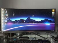 Acer Predator X34A IPS 100HZ G-SYNC Ultrawide Curved
