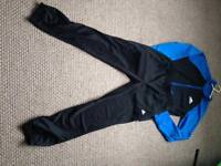 Two boys New Adidas tracksuits
