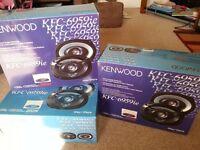 New 6x9 Kenwood Car Speakers