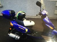 Scooter 49cc blue - bundle