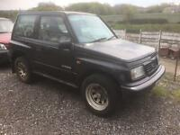 Suzuki vitara 2000 x reg spares or repairs starts and drives