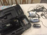 Spares or repairs old video cameras bundle