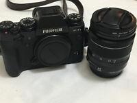 Fuji Fujifilm X series X-T1 16.3MP Digital SLR Camera With XF 18-55mm lens - Mint Condition