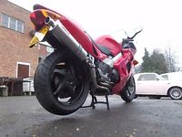 HONDA VFR 800 F SPORTS TOURING MOTORCYCLE LONG MOT DELIVERY AVAILABLE