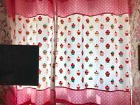 Cupcake curtains