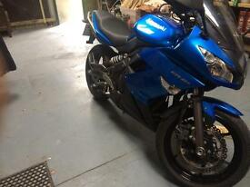 Kawasaki Er6f , low mileage like new