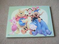 Winnie Pooh Canvas Picture