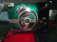 Steering wheel for pc/console ( Logitech driving force pro)
