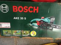 Bosch Chainsaw (as new)
