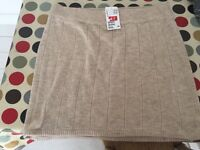 H&M knitted skirt large