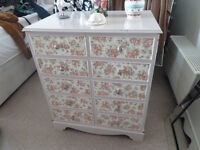 shabby chic cabinet in need of tlc
