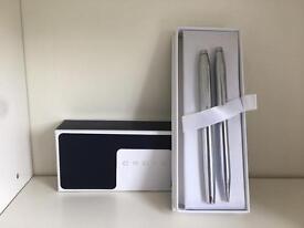 CROSS pen set as new + lifetime Warranty