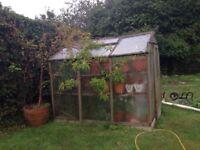 Used Alton ceder greenhouse