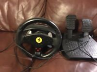 Thrustmaster steering wheel PS3/pc